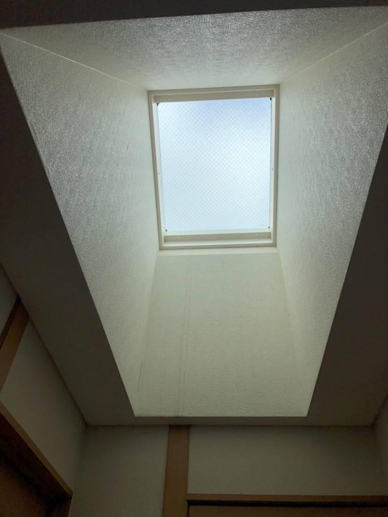 おさだガラスの天窓交換 施工例の施工後の写真1