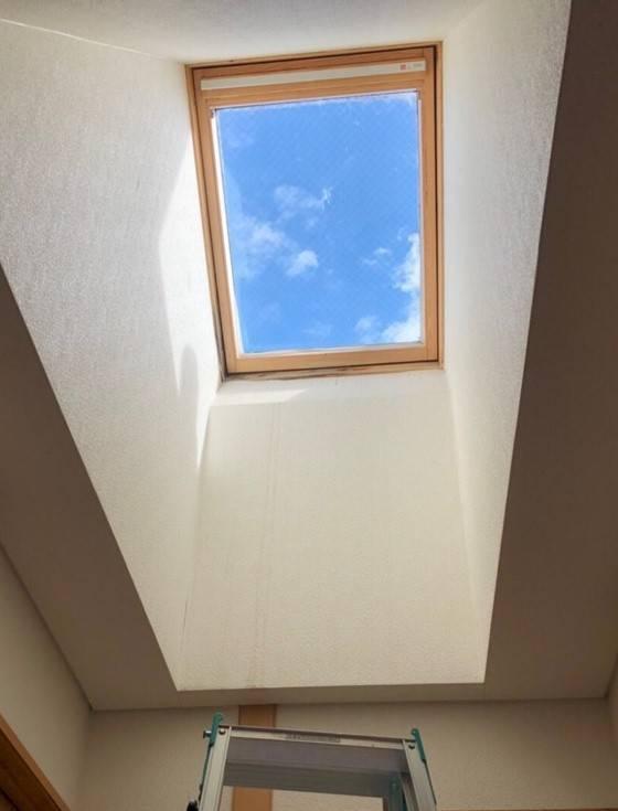 おさだガラスの天窓交換 施工例の施工前の写真1