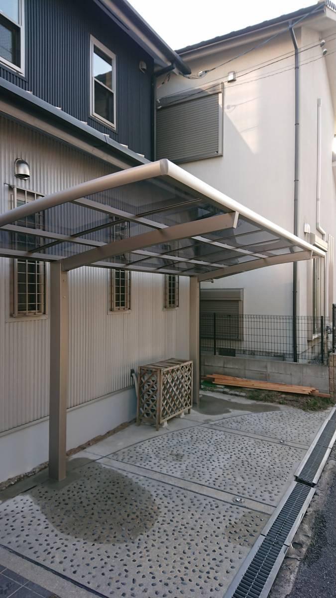 大東トーヨー住器のカーポート工事 大阪の施工後の写真1