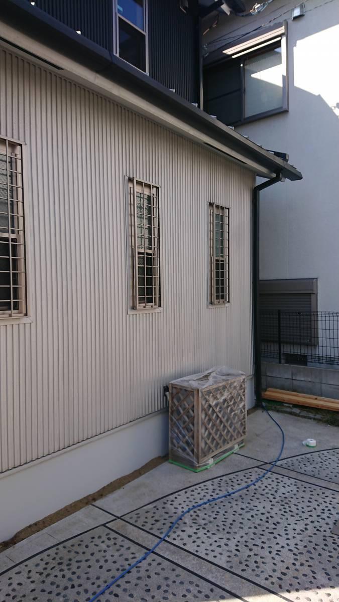 大東トーヨー住器のカーポート工事 大阪の施工前の写真1